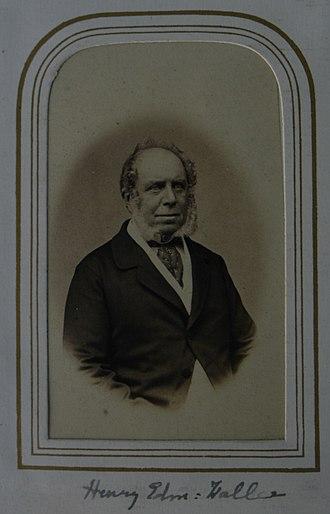 Kirkby Fleetham - Harry Edmund Waller, JP, DL (1804–69), of Farmington and (from 1845–1869) of Kirkby Fleetham.