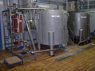 Casein - Casein preparation in an old etching operation in Müllheim