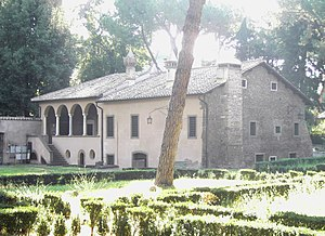 Basilios Bessarion - The house owned by Bessarion in Rome, along the Appian Way near Porta San Sebastiano