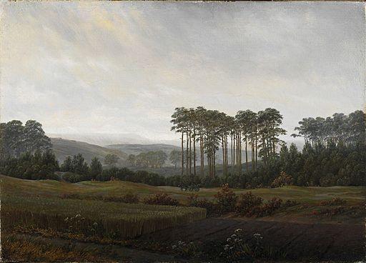 Caspar David Friedrich - Tageszeitenzyklus, Der Nachmittag (1821-22)
