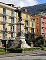Castellammare di stabia, piazza principe umberto, con monumento ai caduti di giuseppe renda 02.jpg