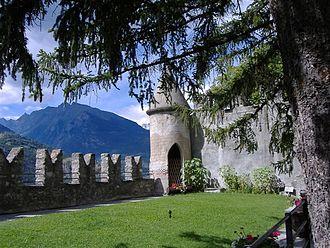 Merlon - Image: Castello di St.Pierre