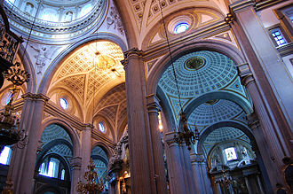 Puebla Cathedral - Interior of the Cathedral