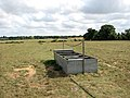 Cattle watering trough in empty pasture - geograph.org.uk - 1493153.jpg