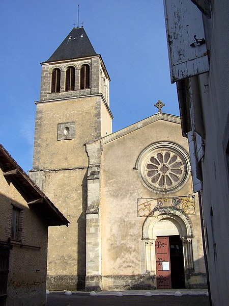 Church of Caudrot (Gironde, France)