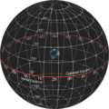 Celestial Sphere - Equatorial Coordinate System - no stars.png