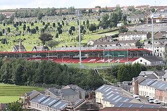 Celtic Park (Derry) - Image: Celtic Park, Derry, August 2009