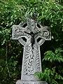 Celtycki krzyż na cmentarzu.jpg