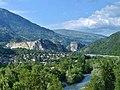 Centron, Isère et verrou de Villette (été 2019).JPG