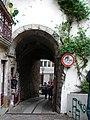 Cerca de Coimbra ou Muralhas de Coimbra designadamente o Arco de Almedina ou Arco Pequeno de Almedina.jpg