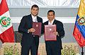 Ceremonia de suscripción de Declaración Conjunta Perú - Ecuador (10870029476).jpg