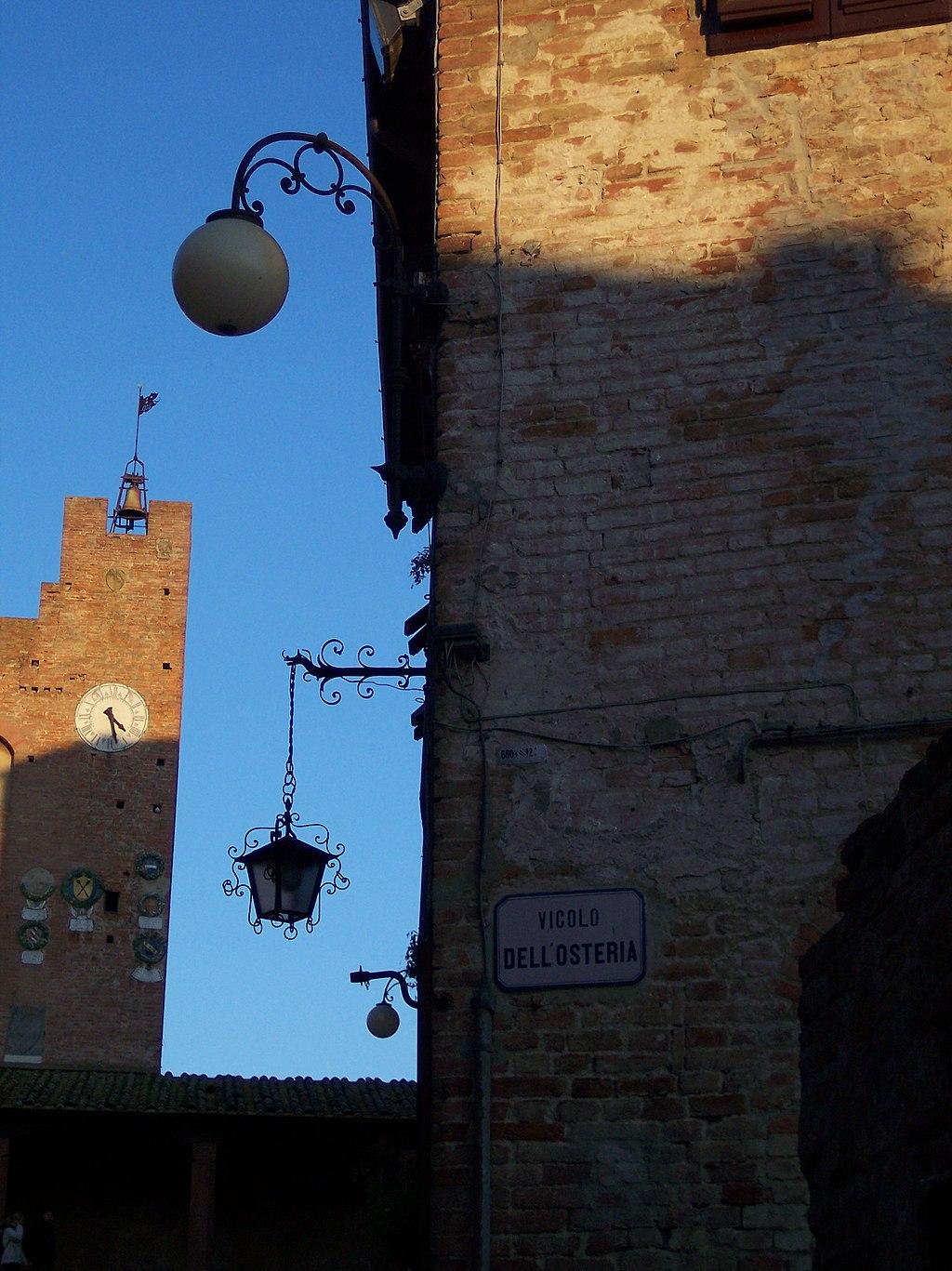 Certaldo, vicolo dell'Osteria a Certaldo Alto