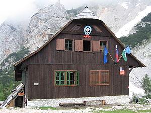 Czech Lodge at Spodnje Ravni - Image: Ceska koca na Spodnjih Ravneh
