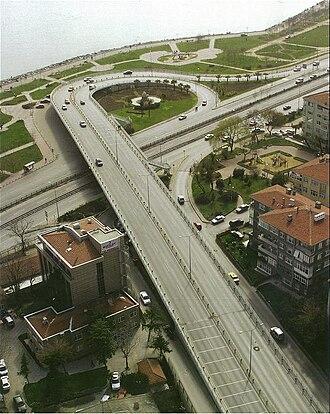 Bakırköy - A view of Bakırköy's sea-side Cevizlik neighbourhood