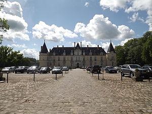 Augerville-la-Rivière - Château d'Augerville, now a hotel
