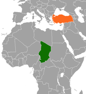 Chad–Turkey relations Diplomatic relations between the Chad and Turkey