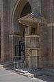 Chaire cour cathédrale Séville Espagne.jpg