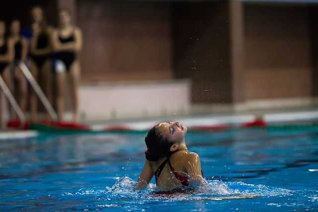 Championship of the North-West Federal District in synchronized swimming (2016-10-20) 17.jpg