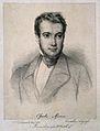 Charles François Antoine Morren. Lithograph by D. Castellini Wellcome V0004136.jpg
