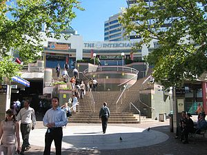 Chatswood Interchange - The Interchange in 2005 before it was demolished to make way for the Epping to Chatswood rail link