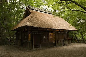Nara Park - Within the park is a Chaya or traditional Japanese teahouse, offering tea and wagashi.