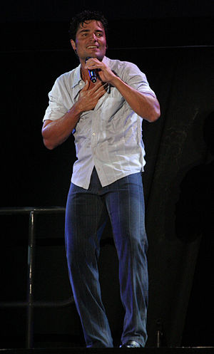 Chayanne - Chayanne performing at the Nokia Theatre in Grand Prairie, Texas, United States