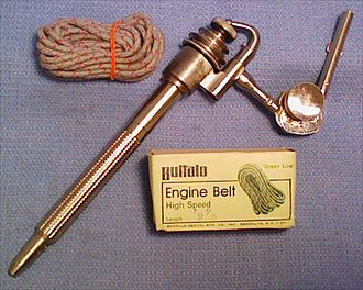 Dental drill - Chayes M33 dental handpiece with Buffalo drive belt.