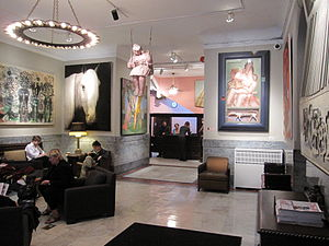 Hotel Chelsea - Lobby of the hotel
