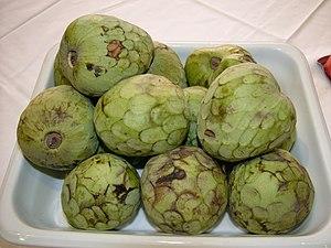 Cherimoya - Ripe cherimoya fruits