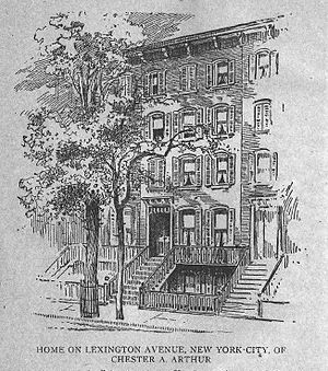 Kalustyan's - 123 Lexington Avenue in 1860
