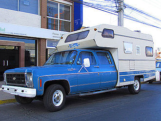 Chevrolet C/K - 1979 Chevrolet C-20 Custom Deluxe Crew Cab with added camper