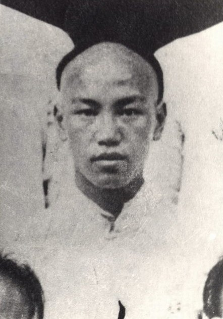 Chiang Kaishek in Baoding Military Academy