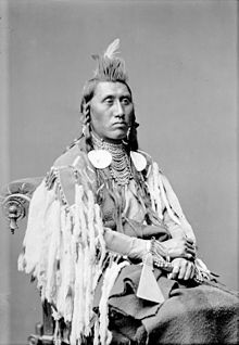 Chief White Eagle Chief Pretty Eagle A Crow