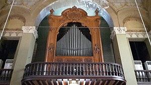 Church of the Immaculate Conception or Terrasanta - Image: Chiesa dell'Immacolata Concezione, organo