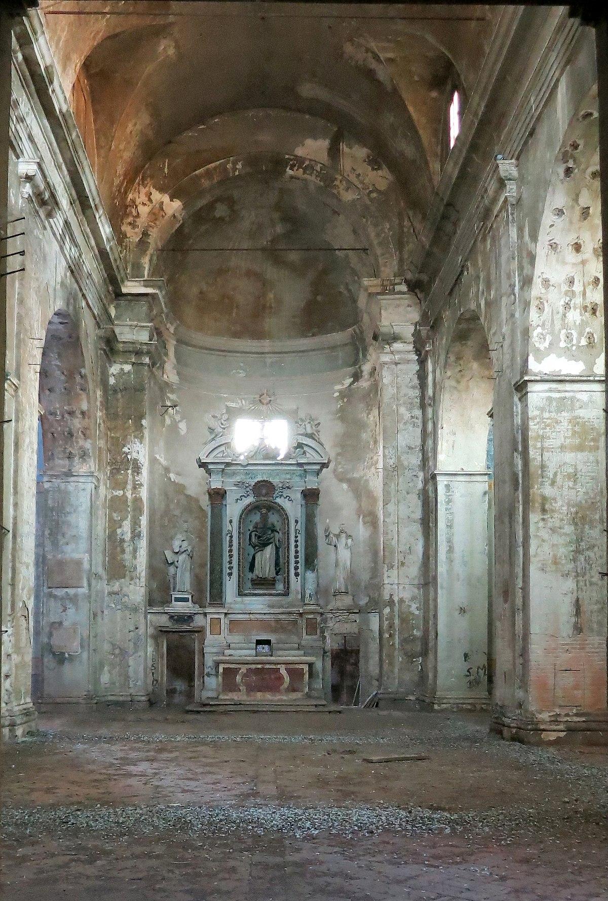 File chiesa di sant 39 antonio abate rieti interno for Arredo bimbo sant antonio abate