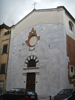 church building in Lucca, Italy