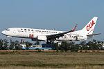 China United Airlines Boeing 737-800 Anshun Huangguoshu Waterfall aircraft.jpg