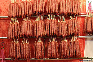 Chinese sausage - Dried Chinese sausages