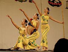 китайский народный танец