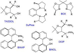 Chiral ligand - A selection of chiral ligands