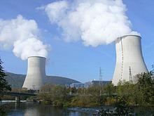 Une photographie de la Centrale nucléaire de Chooz, construite et exploitée par EDF.