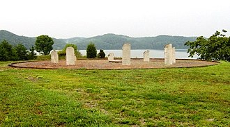 Chota (Cherokee town) - Monument at the Chota site