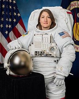 Christina Koch American astronaut