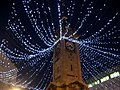 Christmas Lights at Brighton Clock Tower - geograph.org.uk - 1597392.jpg