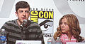 Christopher Mintz-Plasse & Chloë Moretz at WonderCon 2010 2.JPG