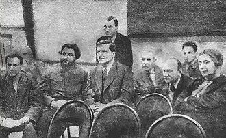 Vlas Chubar - Vlas Chubar and Artemic Khalatov 1936