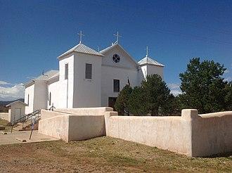 San Miguel del Vado - The church in San Miguel del Vado