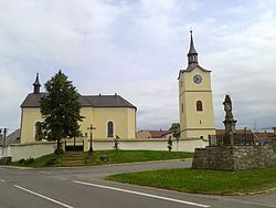 Church of Saint James the Greater (Ostrov nad Oslavou) 2013-06.jpg