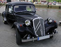 Citroën Traction Avant, 1954