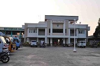 Mabini, Pangasinan - Image: City Hall of Mabini Pangasina